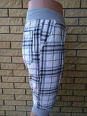 Бриджи мужские коттоновые на резинке SPORT, фото 2