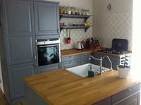 Классическая угловая кухня в современном стиле, фото 1