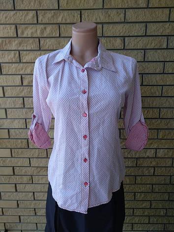Рубашка женская коттоновая высокого качества AYSHE, фото 2