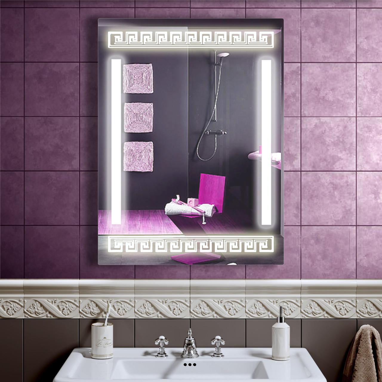 LED дзеркало зі світлодіодним підсвічуванням DV 7550 600х800 мм дзеркало