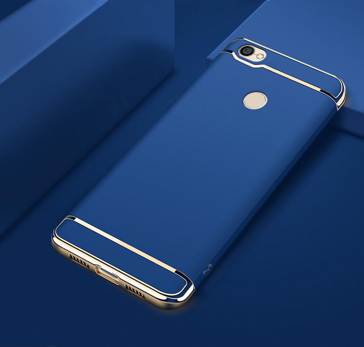 Чехол Fashion для Xiaomi Redmi Note 5а Pro / 5a Prime 3/32 Бампер Синий