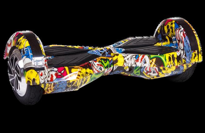 """Гироборд Ховерборд граффити Smart Balance 8"""" Tao-Tao App и самобалансом, фото 2"""