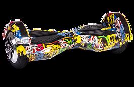 """Гироборд Ховерборд граффити Smart Balance8"""" Tao-Tao App и самобалансом"""