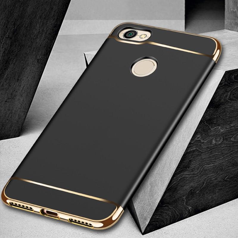 Чехол Fashion для Xiaomi Redmi Note 5а Pro / 5a Prime 3/32 Бампер Черный