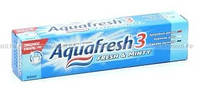 Зубная паста Аквафреш 100мл синяя,зеленая