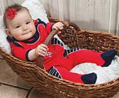 Подарочные наборы для новорожденных, комплекты на выписку для девочек