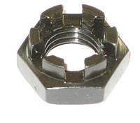 Гайка корончатая нержавеющая М12 DIN 937, ГОСТ 5919-73
