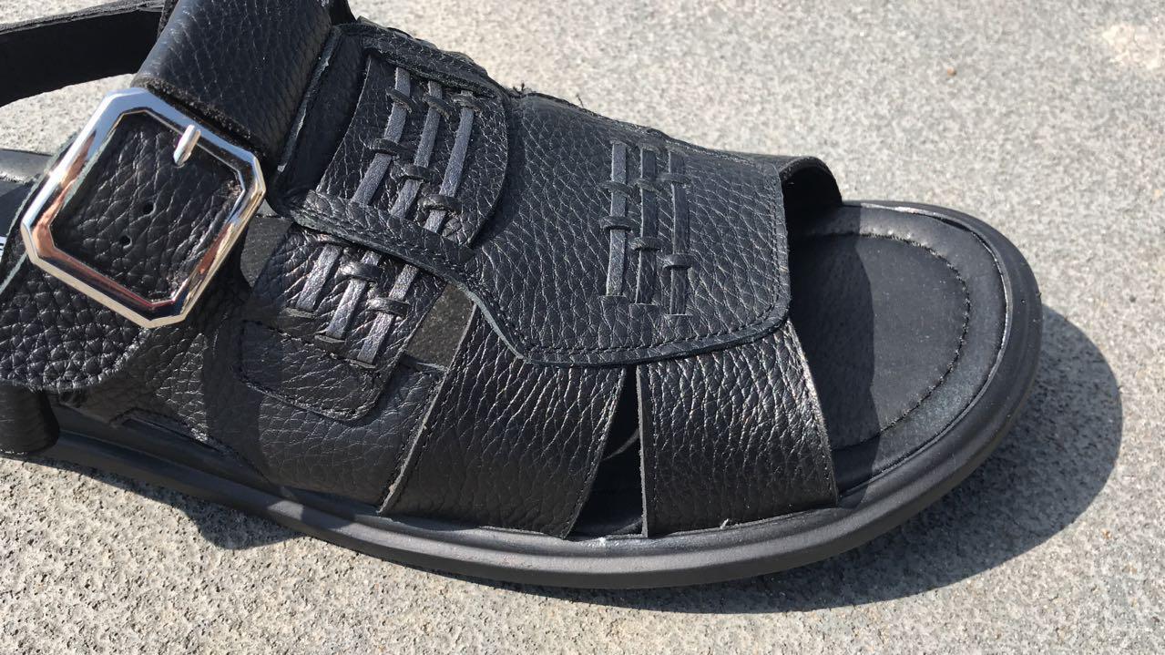0325bd824 Обувь больших размеров Кожаные мужские босоножки Big Boss: продажа ...