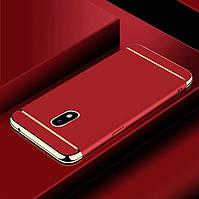 Чехол Fashion для Samsung J7 2017 / J730 Бампер Red