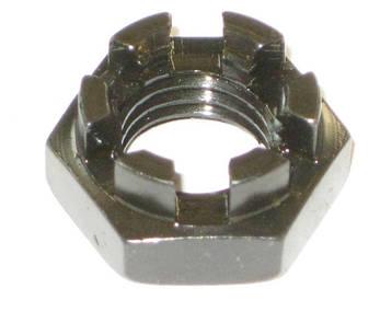 Гайка корончатая нержавіюча М16 DIN 937, ГОСТ 5919-73, фото 2
