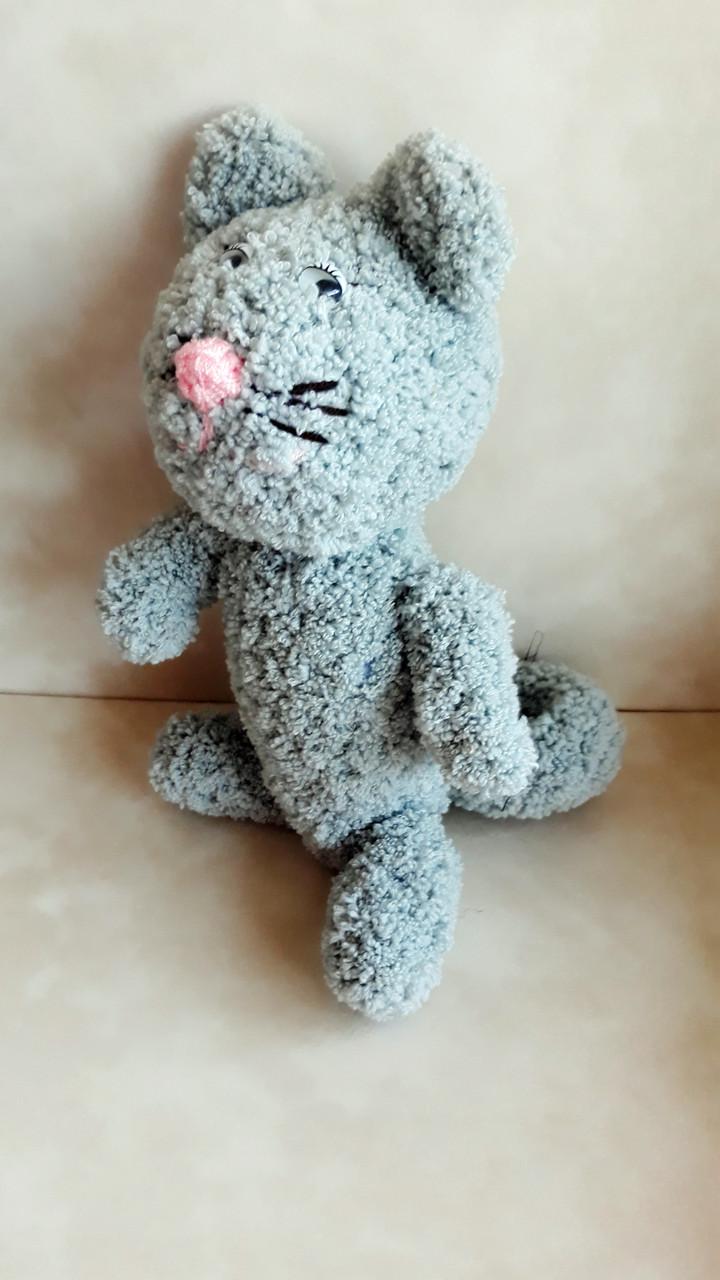 кот вязаный крючком продажа цена в харькове мягкие игрушки от