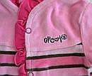 Костюм велюровый для девочки (Nicol, Польша), фото 2