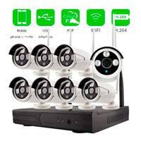 Набор камер видеонаблюдения WiFi KIT 8CH