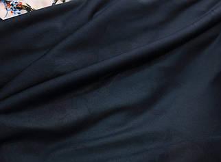 Підкладка трикотажна темно-синя