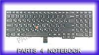 Клавиатура для ноутбука LENOVO (ThinkPad: E550, E555) rus, black