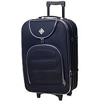 Дорожный чемодан на колесах Bonro Lux Темно-синий Большой