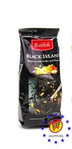 Чай черный с кусочками фруктов BASTEK Black Island 100г