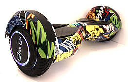 "Гироцикл Гироборд Смартбаланс 8"" ТАО со светящимся колесами App и самобалансомХИП-ХОП"
