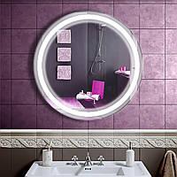 Зеркало LED со светодиодной подсветкой DV 7561 800х800 мм.