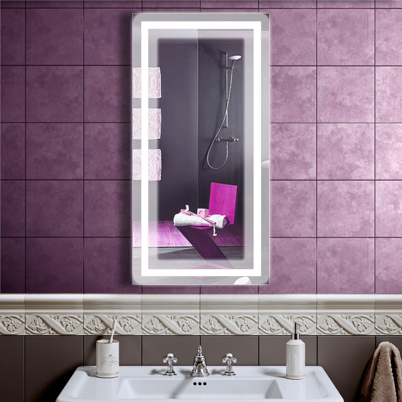 LED дзеркало зі світлодіодним підсвічуванням DV 7562 600х1200 мм дзеркало