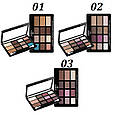 Палитра теней для век Malva Pro Eye Shadow Contour & Highlight M493, фото 2
