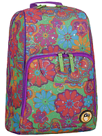 Рюкзак школьный ортопедический Bagland для средней школы разноцветный Стингер