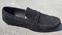 Обувь больших размеров Мужские мокасины Big Boss ,натуральная замша
