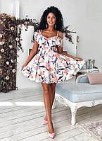 Женское легкое летнее платье мод.1105