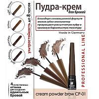 Крем-пудра для бровей Parisa CP-01