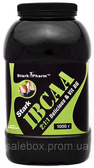IBCAA Powder Stark Pharm/BCAA Старк Фарм 2:1:1 / 1000 г. без вкуса (чистый)