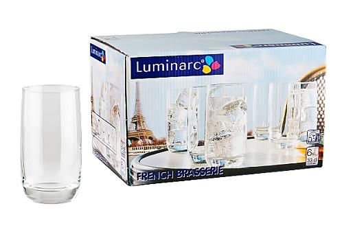 Набор стаканов  French  Brasserie 330 мл 6 шт 9369