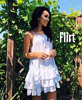 Летнее платье-сарафан с рюшами, фото 1