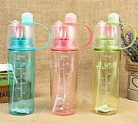 Освежающая бутылка - спрей для велосипедиста