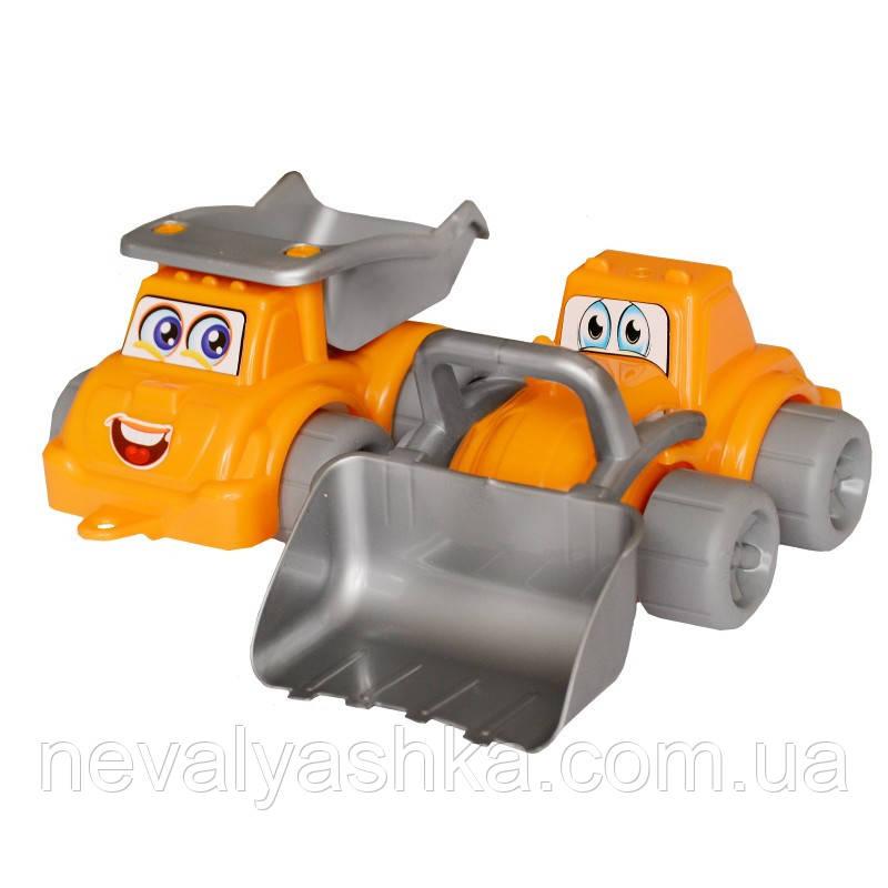 Набор машинок Стройплощадка Максик Технок Трактор Машинки для песочницы, 0977, 000134