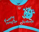 Костюм велюровый для мальчика Funny Monster (Nicol, Польша), фото 2