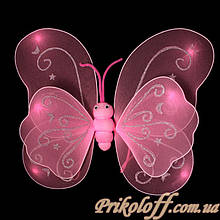 Крила метелика, рожеві