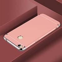 Чехол Fashion для Xiaomi Redmi 4X бампер rose