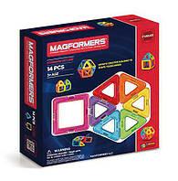 Магнітний конструктор Магформерс на 14 деталей Magformers Basic Set, фото 1