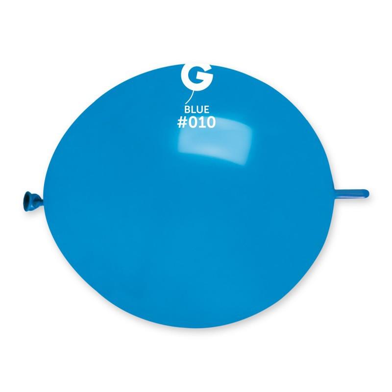 """Воздушные шары Линколуны GL13 13""""(33см)  10 Синий Пастель В упак:100 шт."""