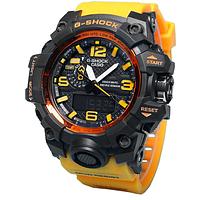 Копия спортивных часов Casio G-Shock GWG-1000 yellow