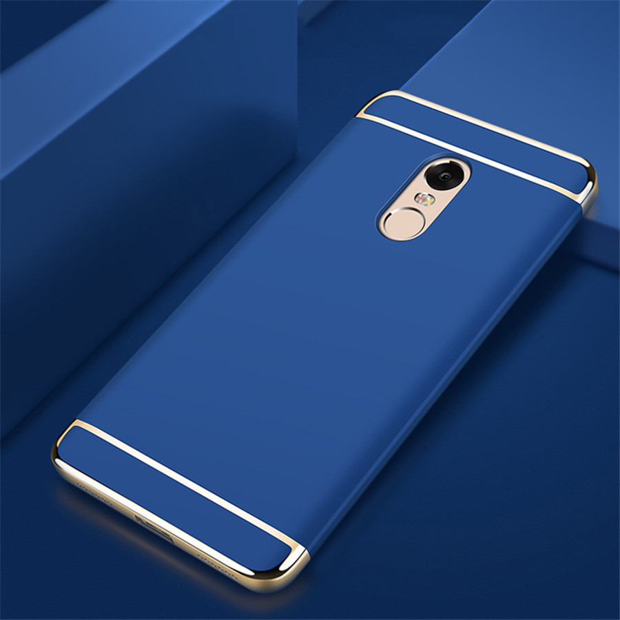 Чехол Fashion для Xiaomi Redmi Note 4x / Note 4 Global Version бампер Blue