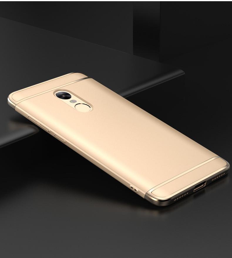 Чехол Fashion для Xiaomi Redmi Note 4x / Note 4 Global Version бампер Gold