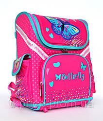 Каркасный школьный рюкзак для девочки 18001
