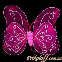 Крила метелика, яскраво рожеві