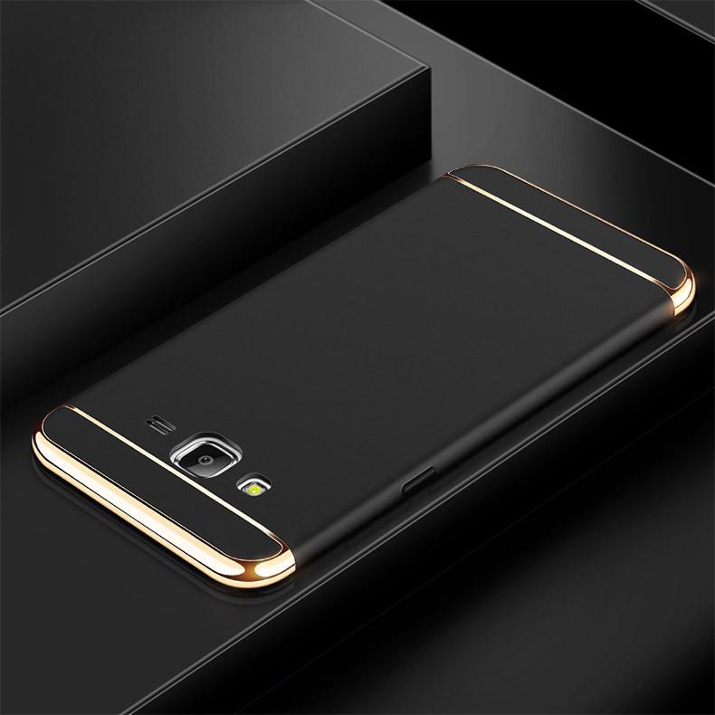 Чехол Fashion для Samsung J5 2015 / J500H / J500 / J500F Бампер Black