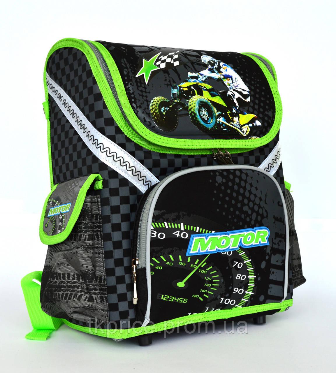 Каркасный школьный рюкзак для мальчиков 18001
