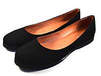 Балетки женские замшевые Gracia U Black by Rosso Avangard цвет черный