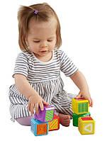 Fisher-Price сенсорные кубики Первые слова Формы Laugh Learn First Words