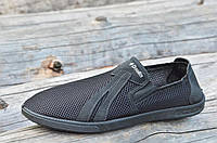 Босоножки мужские черные (код 2151) - босоніжки чоловічі чорні, фото 1