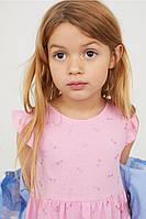 Красивое платье для девочки , H&m,на 6-8 лет